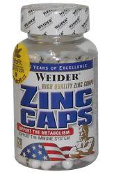 Weider Zinc Caps 120 Kapseln