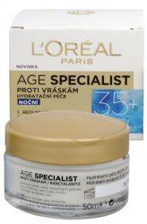 L'Oréal Paris Age Specialist 35+ Nacht Anti-Falten-Creme 50 ml kopie
