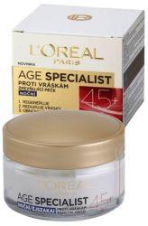 L'Oréal Paris Age Specialist 45+ Nacht Anti-Falten-Creme 50 ml