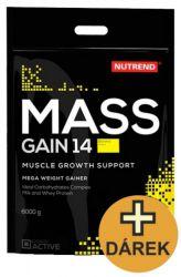 Nutrend Mass Gain 14 ─ 6000 g + shaker KOSTENLOS