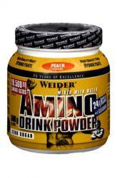 Weider Amino Drink Powder 500 g ─ Geschmack Pfirsich