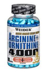 Weider Arginine + Ornithine 4000 ─ 180 Tabletten
