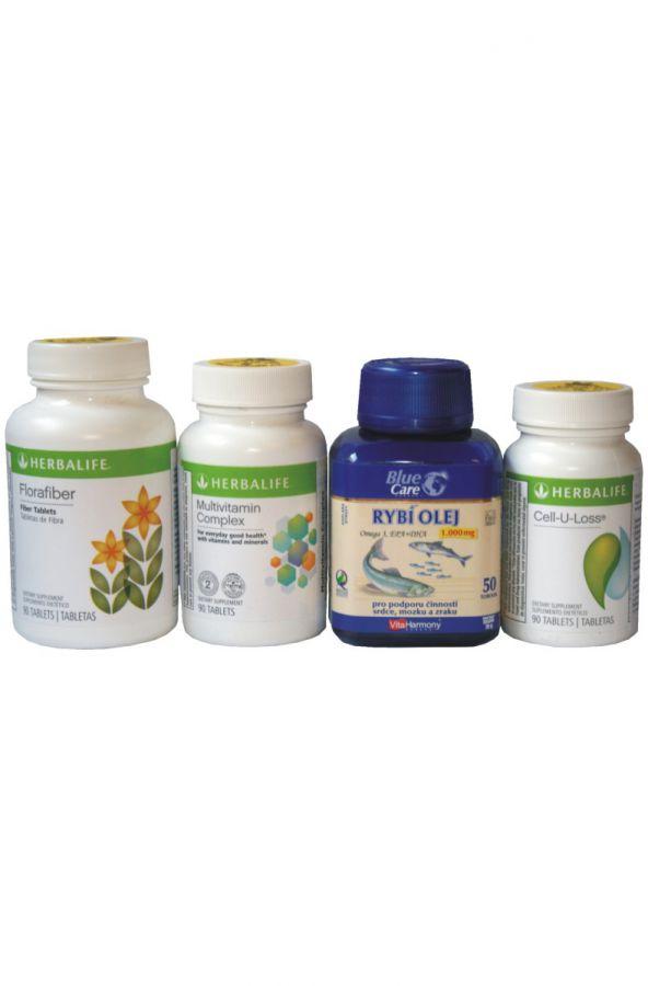 Herbalife USA Sada tablet s náhradou F4 (F2-F5)
