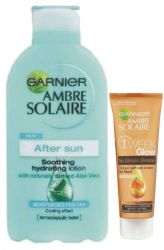 Ambre Solaire feuchtigkeitsspendende After-Sun-Lotion 400 ml + Toning Creme 50 ml GRATIS