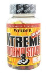 Weider Xtreme Thermo Stack 80 Tabletten